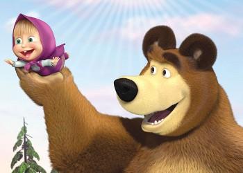 Curiosità masha e orso