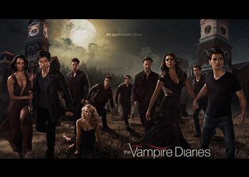 the vampire diaries curiosità