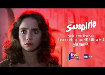 Suspiria: il capolavoro di Dario Argento in prima visione su Tivùsat in 4K