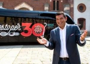 C'è posto per 30: il nuovo cooking show di Max Giusti sul canale 9