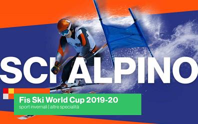 Coppa del Mondo di sci alpino in tv