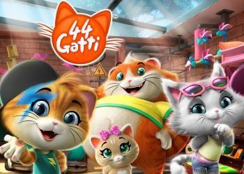 44 gatti cartone animato