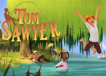 tom sawyer cartone animato