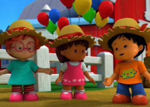 'Little People': la seconda stagione del cartone animato in tv su Frisbee