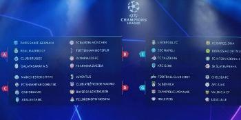 partite champions league in chiaro
