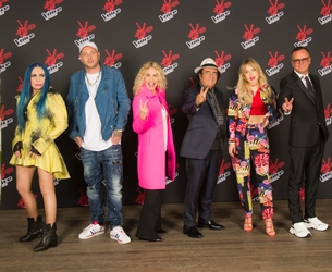 the voice senior italia