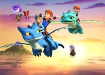 dragons squadra di salvataggio in tv